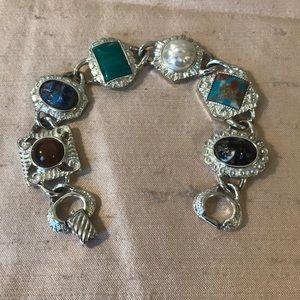 vintage Sarah Coventry faux stone bracelet